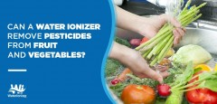 Can a Water Ionizer Remove Pesticides from Fruits and Vegetables?